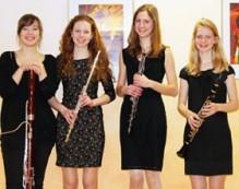 Ensemble Holzbläserquartett