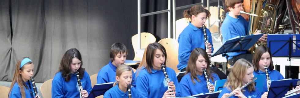 Das Vororchester der Stadtkapelle Wertingen
