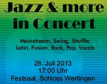 Jazz & more in Concert