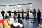 """""""Flauti Concertanti"""" - das Wertinger Blockflötenensemble der Musikschule musizierte im Krankenhaus"""