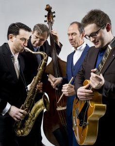 The Rick Hollander Quartet, feat. Dr. Brian Levy @ Saal der Musikschule Wertingen | Wertingen | Bayern | Deutschland