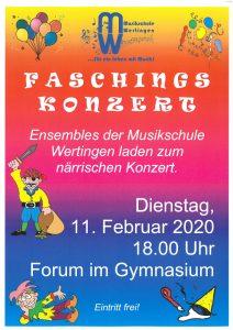 Faschingskonzert @ Gymnasium Wertingen, Forum